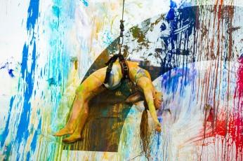 """Performance """"Pared"""" - La Fura dels Baus"""